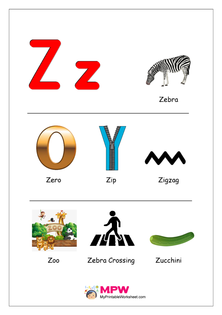 Things that start with Z